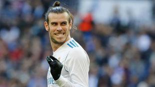 Bale en un momento ante el Deportivo de la Coruña