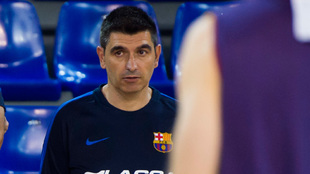 Berrocal, la pasada temporada en el Barcelona
