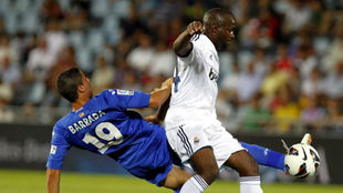 Lass y Barrada en un Real Madrid-Getafe