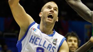 Nick Calathes, jugador internacional griego
