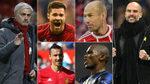 Los doce futbolistas que han sido dirigidos por Mourinho y Guardiola
