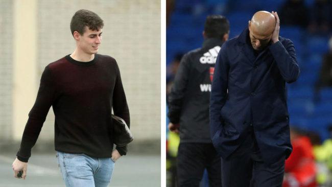 Zidane and Kepa's failed transfer