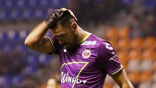 La Palmera Rivas en el duelo ante el Puebla.