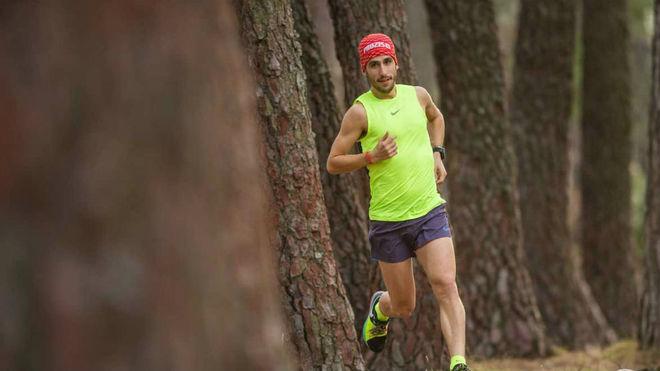 Pablo Villa, en un entrenamiento.