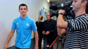 Joey Barton, en una imagen de archivo durante su etapa en el Olympique...