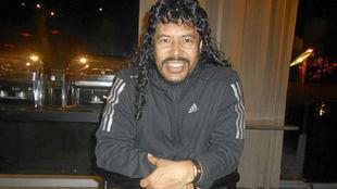 Higuita, durante una entrevista con MARCA