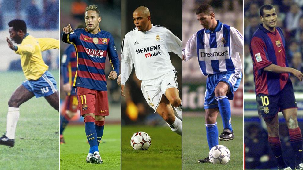Quién es el mejor futbolista brasileño de todos los tiempos  ¿Quién ... 58eb2618fb219