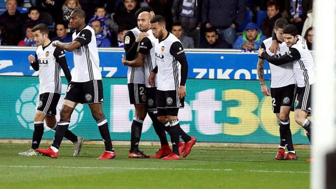Copa del Rey - Alaves 2-1 Valencia: Valencia win on ...