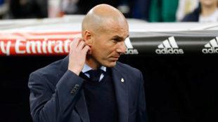 Zidane, decepcionado ante el Leganés.