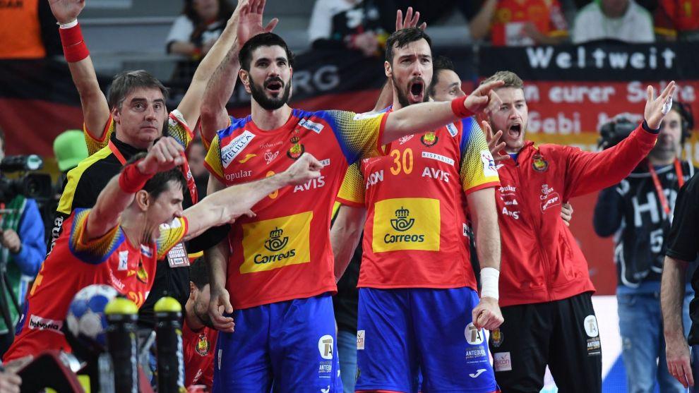 Los Hispanos celebran su pase a la final