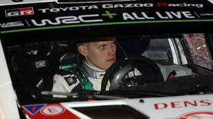 Ott Tanak (29 años), en la presentación del Rally de Montecarlo