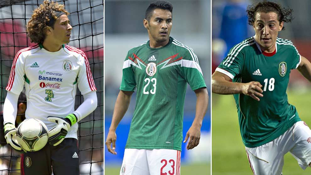 Selección Mexicana  Guardado b3cecb8d36875
