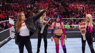 Ronda sorprendió al mundo de la WWE.