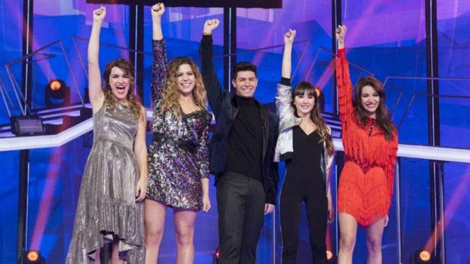Los cinco finalistas de OT 2017. Amaia, Alfred, Aitana, Ana Guerra y...