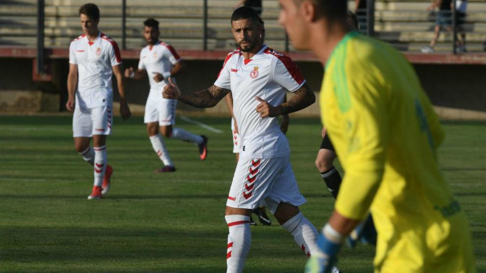 Ahmed Yasser, durante un partido.