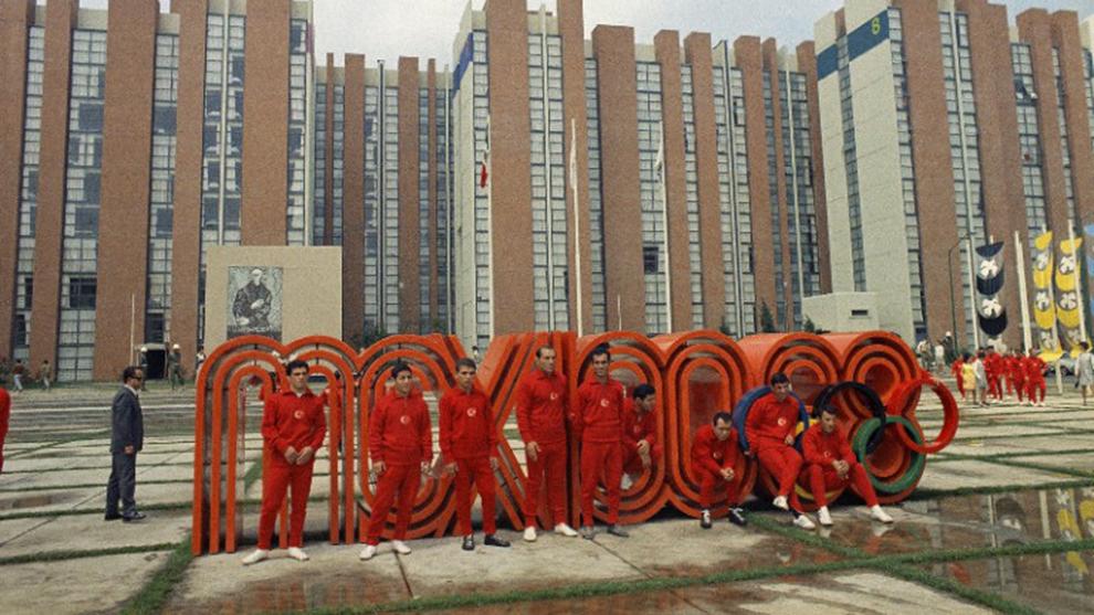 A 50 Anos De Los Juegos Olimpicos De Mexico 1968 Marca Claro Mexico
