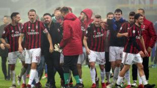 El Milan venció a la Lazio de Inzaghi