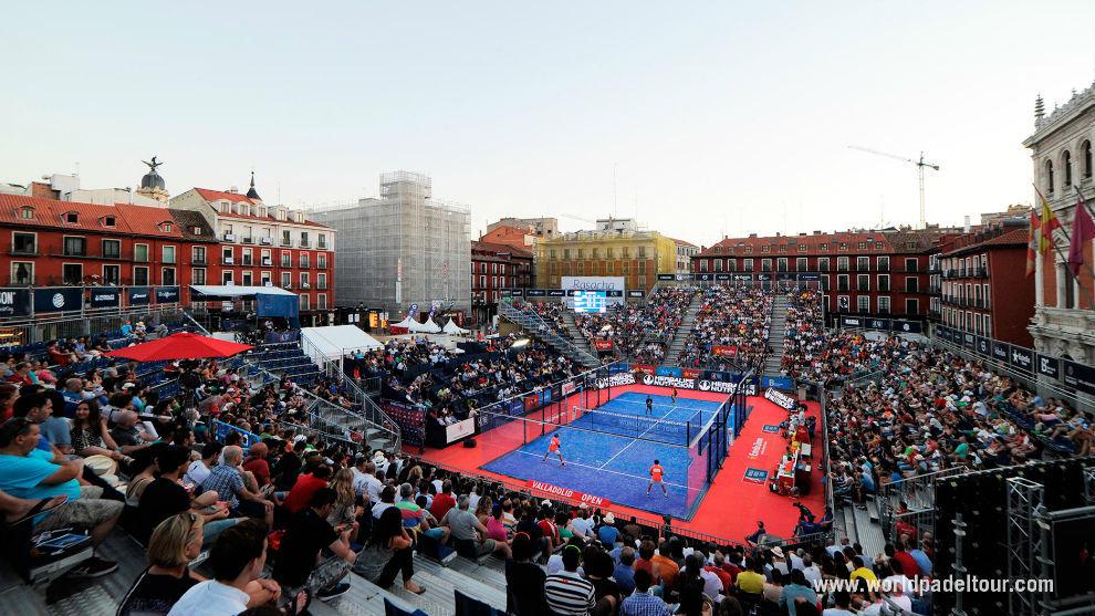 El World Pádel Tour, en su paso por Valladolid la pasada edición