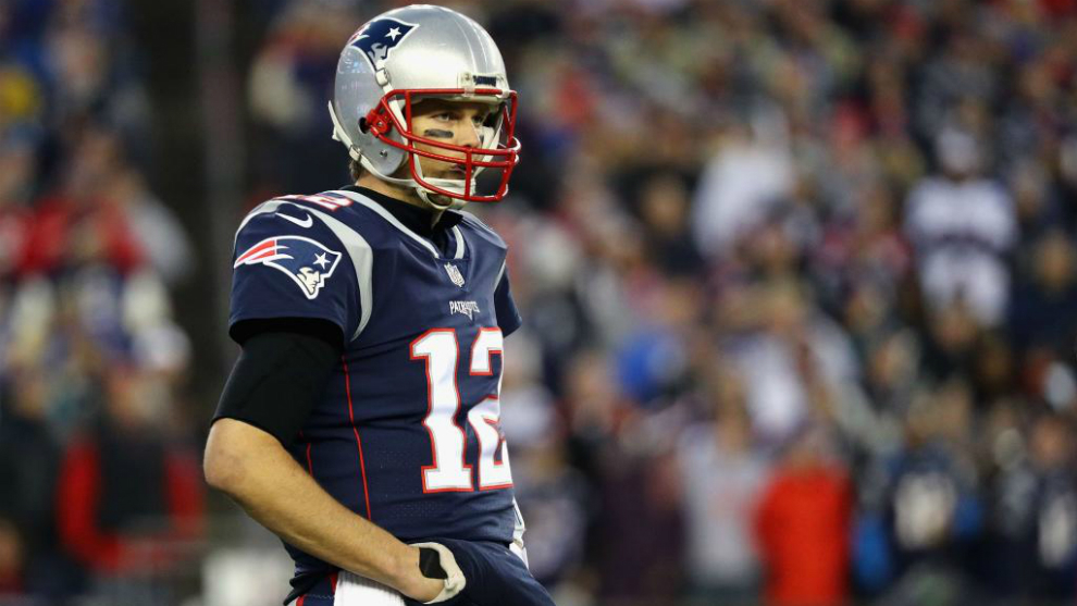Tom Brad, ell mejor quarterback en Playoffs