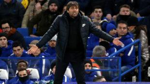 Antonio Conte, técnico del Chelsea.