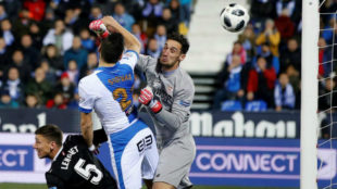 Rico error aids Leganes in draw