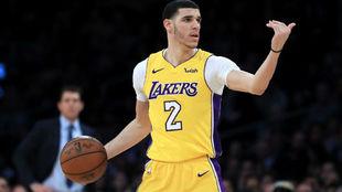 Los Lakers llevan un balance de 4-4 en los últimos partidos sin Lonzo