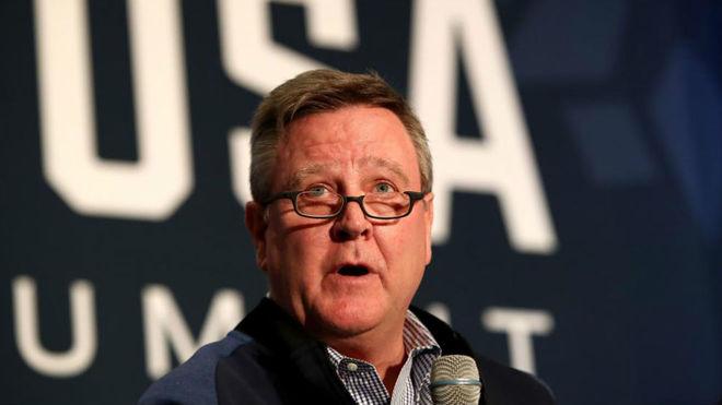 Scott Blackmun, CEO del Comité Olímpico de Estados Unidos.