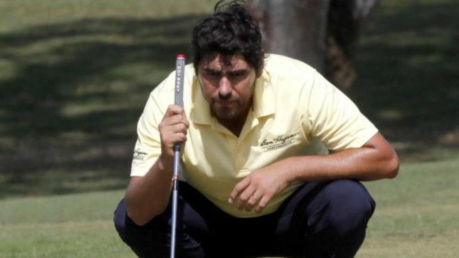 Nelson Ledesma durante la primera vuelta en el Panamá Championship