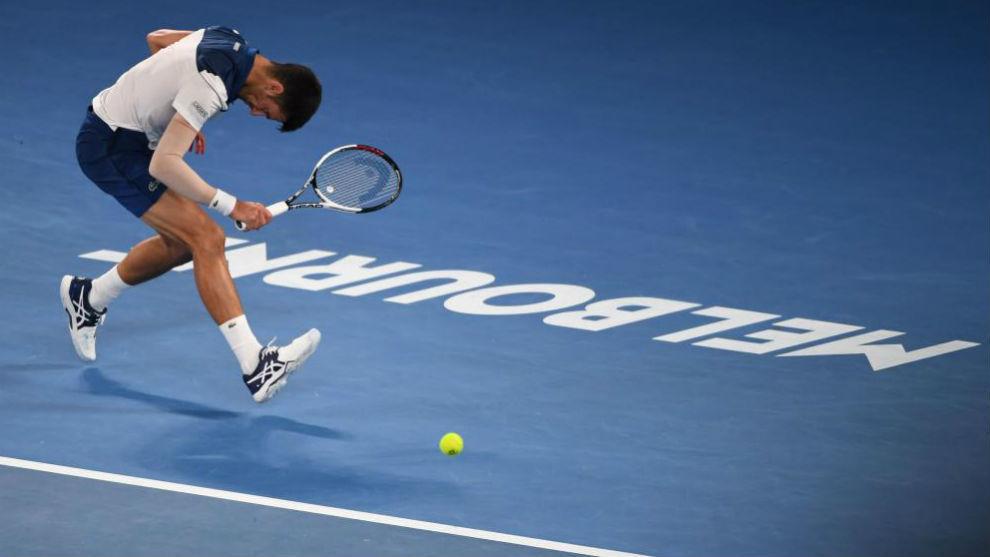 Djokovic se lamenta