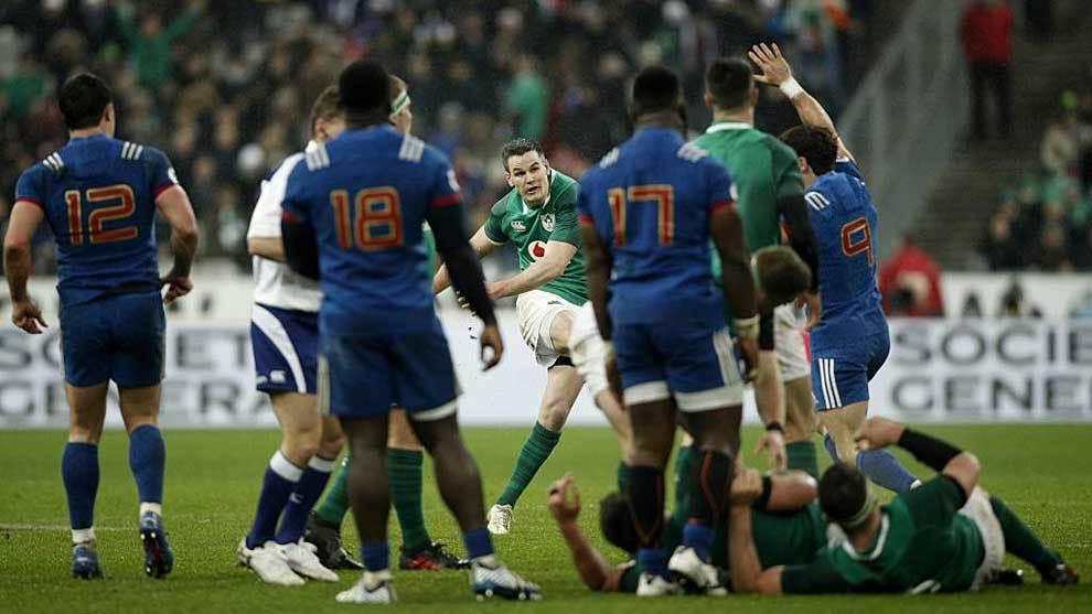 Este es el momento en que Sexton lanza a palos el 'drop' ganador desde...