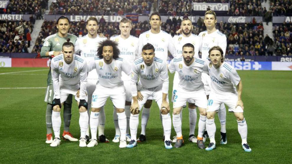 LaLiga - Levante 2-2 Real Madrid: Real Madrid player ...