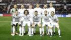 El once del Real Madrid para medirse al Levante en Liga