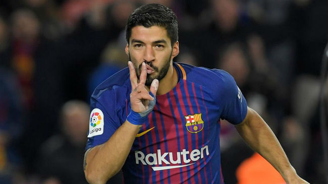Luis Suarez is a Catalan derby specialist
