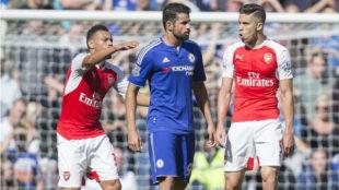 Paulista se encara con Diego Costa en un duelo entre Chelsea y...