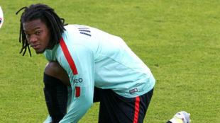 Renato con la selección portuguesa