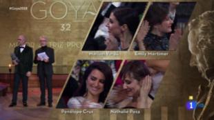 Nathalie Poza, ganadora del Goya a Mejor Actriz