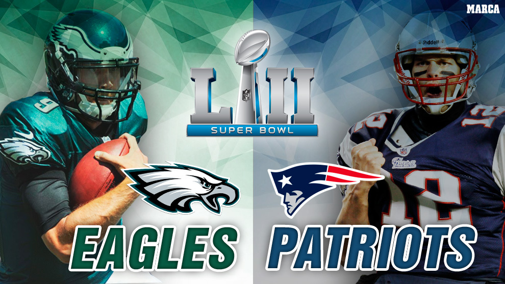 Super Bowl 2018 - Philadelphia Eagles vs New England Patriots