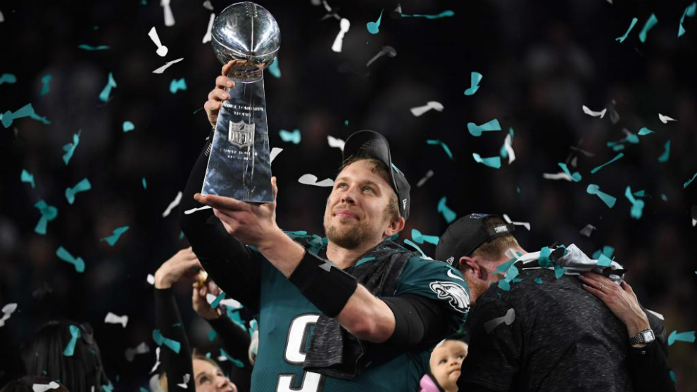 Image result for Nick Foles, el MVP del Super Bowl