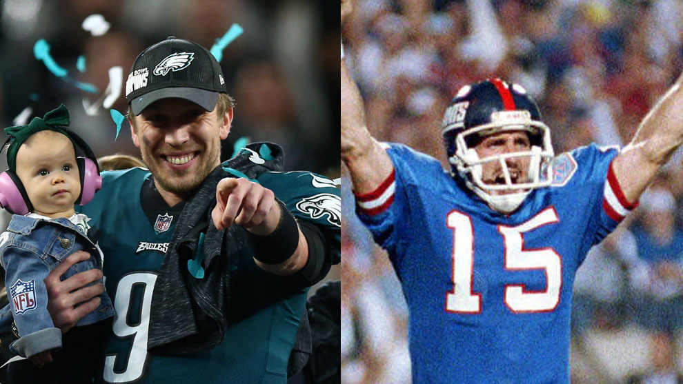 Nick Foles y Jeff Hosteteler
