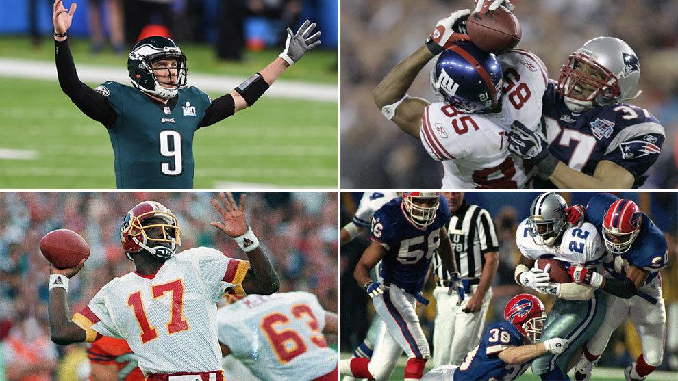 Los Eagles ganan su título, tal como tuvieran antes Giants, Redskins...