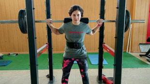 Ana Carrasco se prepara para el Mundial.