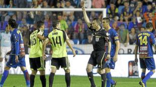 Borbalán, en el Levante Zaragoza de 2011 disputado en el Ciutat de...