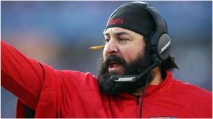 Matt Patricia, en su etapa en los Patriots.