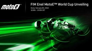 Cartel presentación Copa del Mundo MotoE