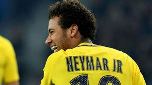 Neymar, en un partido del PSG.