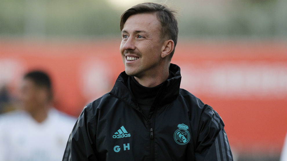 Guti, during a match of Juvenil A of Madrid.