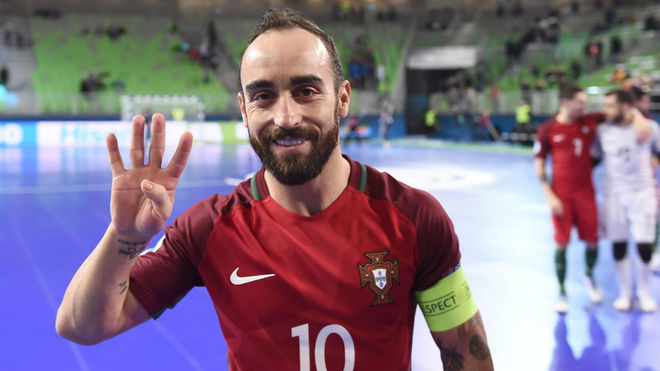 Semifinal Europeo Fútbol Sala 2018 Rusia Vs Portugal Ricardinho Ante Su Reto De Jugar Una Final Marca Com