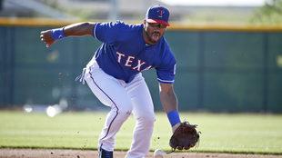 Russell Wilson juega de segunda base.