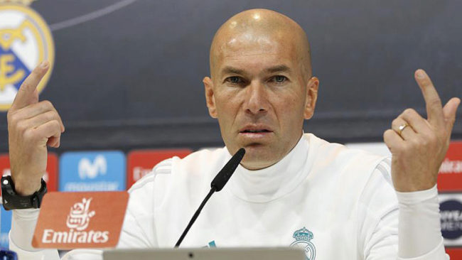 Zidane demands a response from his players