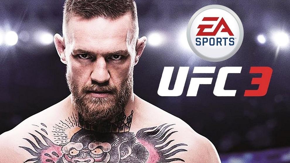 Conor McGregor en el UFC 3